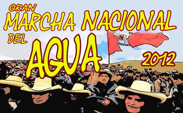 Informe sobre la Gran Marcha Nacional por el Derecho al Agua en Perú