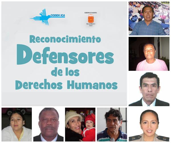 Reconozcamos a los defensores de los derechos humanos en nuestra región