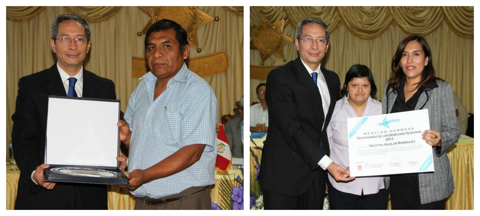 Conoce quienes fueron elegidos como «Defensores de los Derechos Humanos» de la región Ica