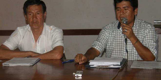Centros Poblados piden Agua y Desagüe en Parcona