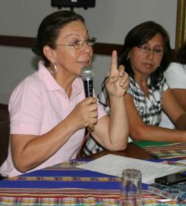 Nora Barco Consejera Regional