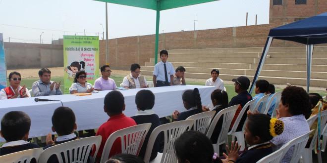 Implementan Ludotecas Municipales en Distritos de Pisco y Chincha con mayor índice de violencia en niños y niñas.