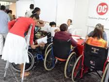 peronas con discapacidad