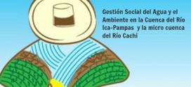 Diálogo por la gestión equitativa y sostenible del agua