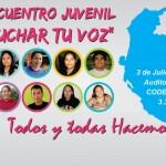 """""""Haz escuchar Tu Voz"""" dicen los jóvenes de Ica"""