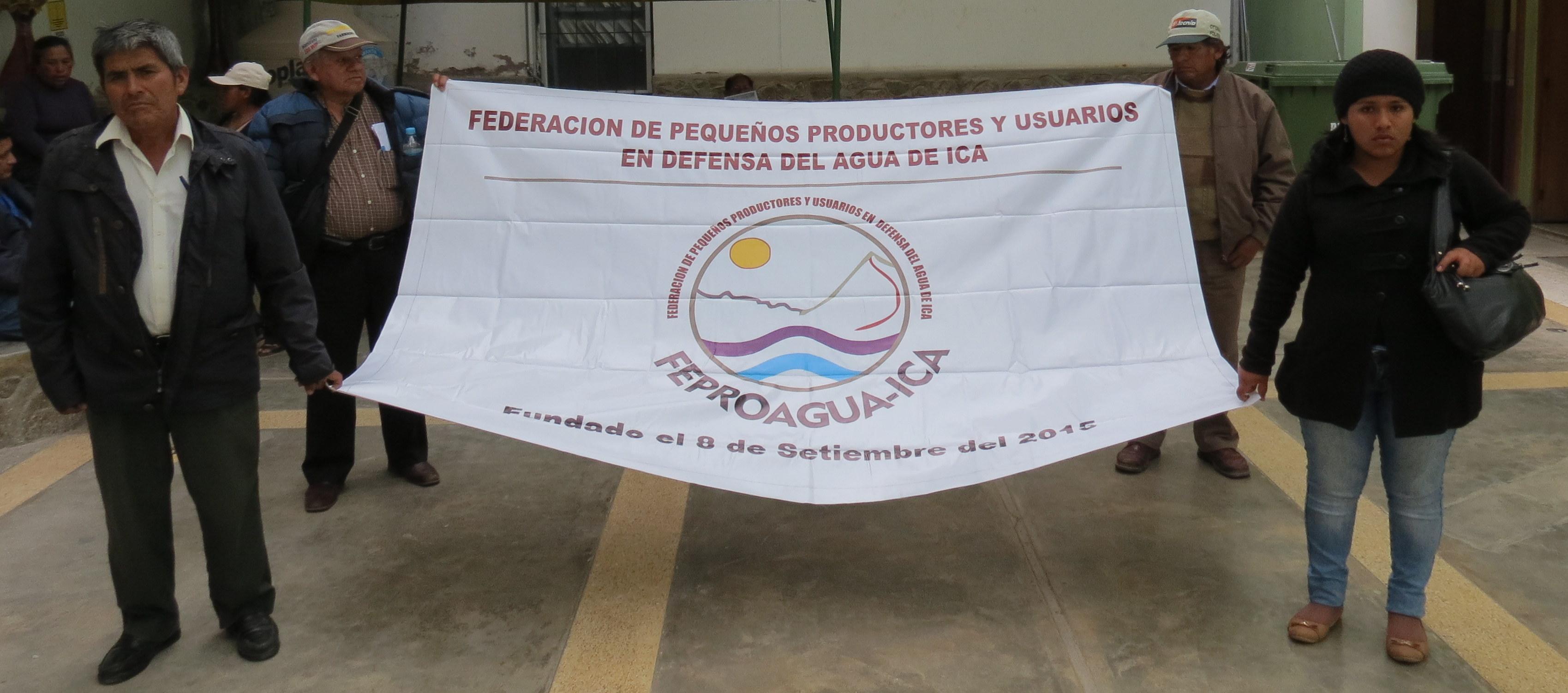 Gesti n del agua mesa de di logo biregional codehica for Oficina gestion ica