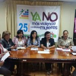 """Chincha se manifiesta y dice """"No a la Violencia contra la Mujer"""""""
