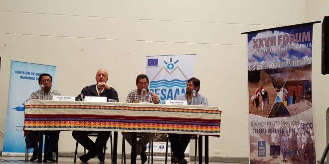 XXVII Forum «Gobernanza y Sostenibilidad Hídrica»