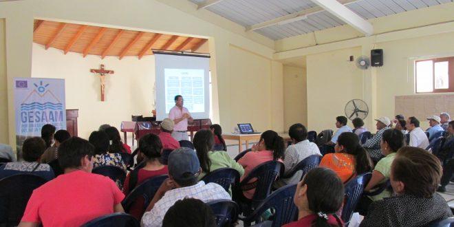 Una agenda para las mujeres y la gestión del Agua en Ica y Huancavelica