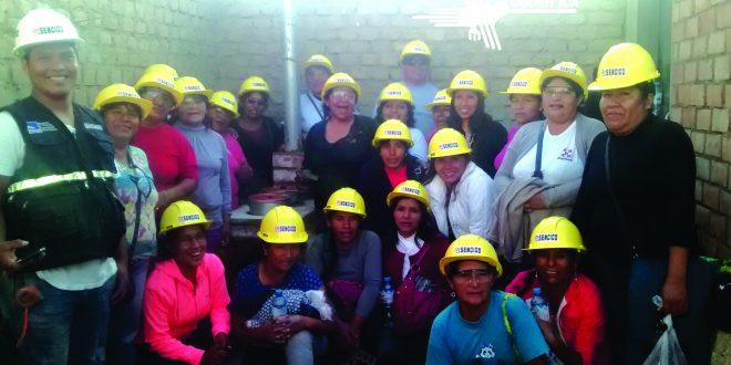 Mujeres organizadas de Comunidades Rurales terminan curso de Cocinas mejoradas