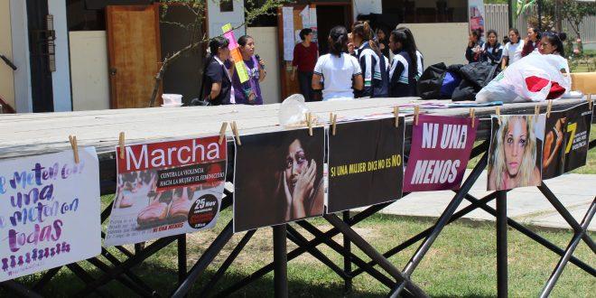 #NIUNAMENOSICA SENSIBILIZAN A ESCOLARES DE LA INSTITUCIONES EDUCATIVAS