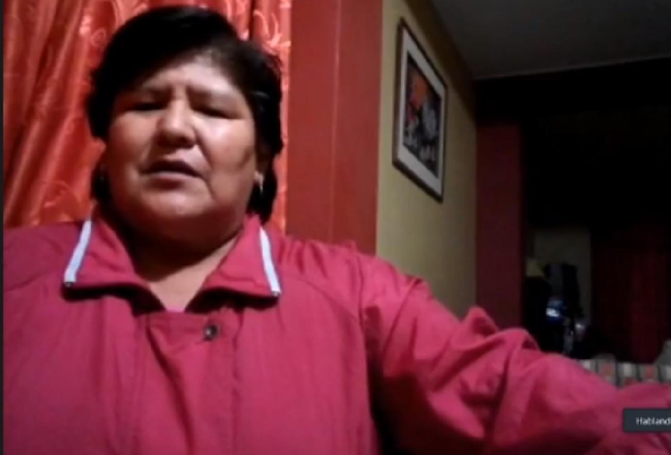 María Neyra, Pequeña Agricultora de Ocucaje.
