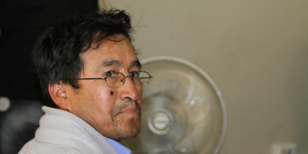 Suspenden audiencia programada por caso del alcalde de Espinar Oscar Mollohuanca