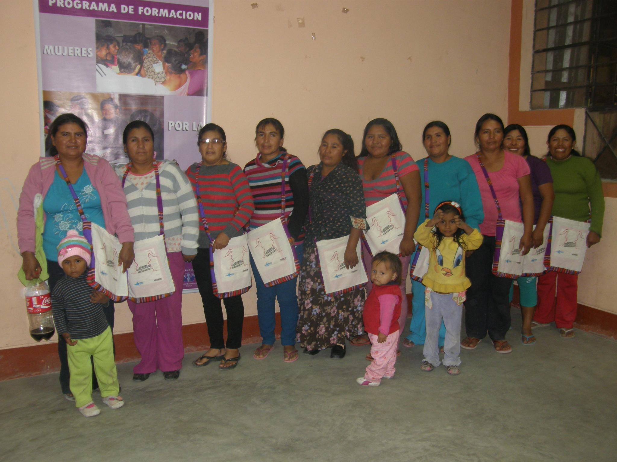 Mujeres de Llipata compartieron sus experiencias en los Presupuestos Participativos