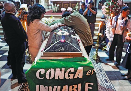 Cajamarca: cinco muertos y Humala guarda silencio