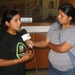 Alisson Anampa - Delegada NAcional del Movimiento de Niños, Niñas y Adolescentes Organizados del Perú