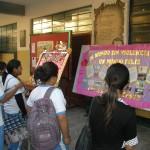 Estudiantes de la I.E José Matías Manzanilla elaboraron y presentaron periódicos murales en contra de la violencia
