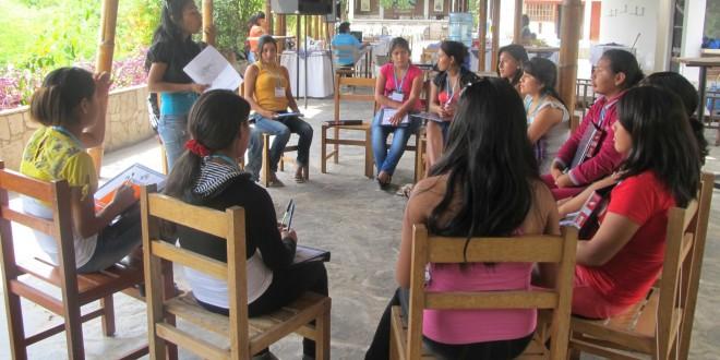 IX  Encuentro  Regional de  la CONAO, coordinadora de niños, niñas y adolescentes organizados de Ica