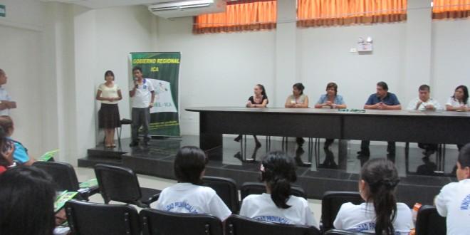 Institucionalizan participación de Niños y Adolescentes en la Región Ica