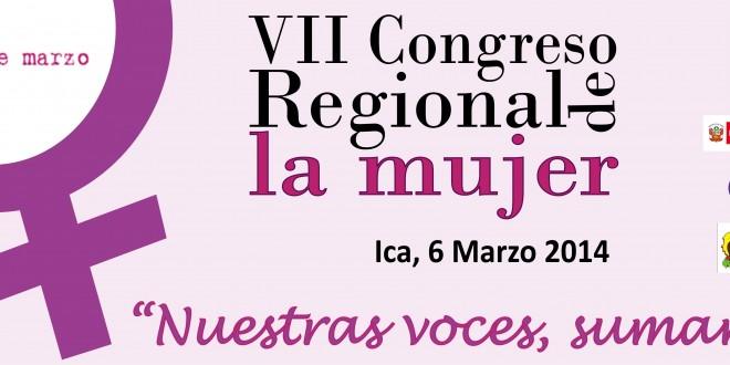 Analizan Participación Política de la Mujer en Congreso Regional de Ica