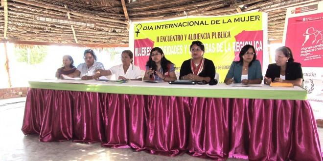 Participación Política de la Mujer Sí, Gestiones Eficientes también.