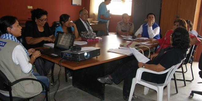 Instituciones Públicas  y Ong retoman coordinaciones para la atención integral de  Adolescentes Trabajadores del Cementerio General de Saraja
