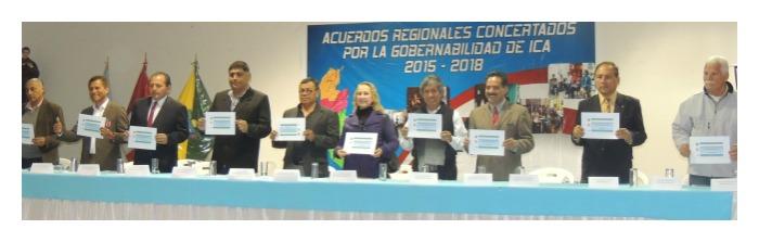 Acuerdo Regional Concertado por la Gobernabilidad de Ica