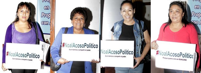 #NoalAcosoPolítico