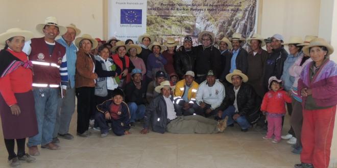 Encuentros Comunales Cuenca Media Río Ica Pampas