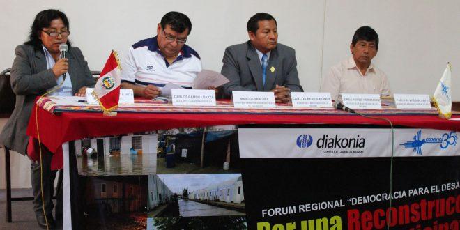 VIDEO: RECONSTRUCCIÓN ICA CARECE DE LIDERAZGO DEL GOBERNADOR REGIONAL,  AFIRMA ALCALDE DE LA TIGUIÑA