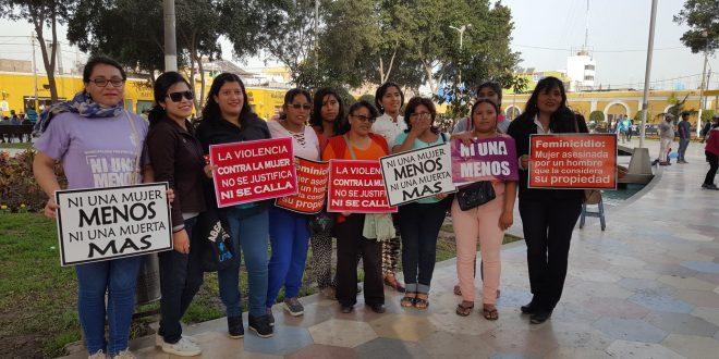 VIDEO: #NiUnaMenosIca sensibiliza a los estudiantes sobre la No Violencia contra la Mujer.
